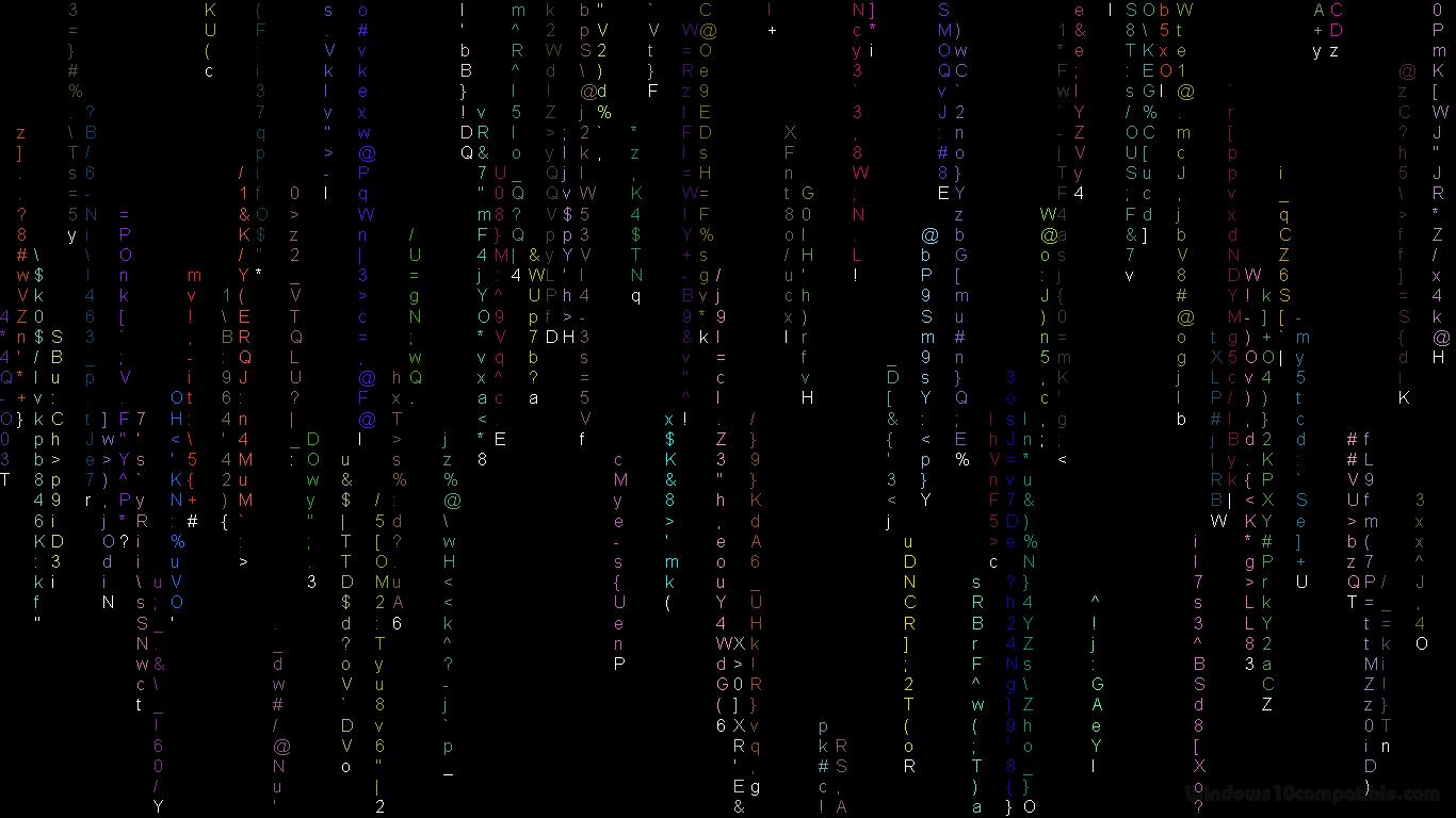 simple matrix screensaver 1 3 free download